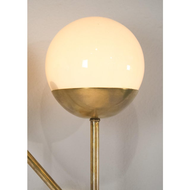 Mid-Century Modern Murano Glass Stilnovo Sconces - A Pair For Sale - Image 3 of 8
