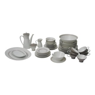 Rosenthal Greek Key Athenian China Set - 63 pieces For Sale