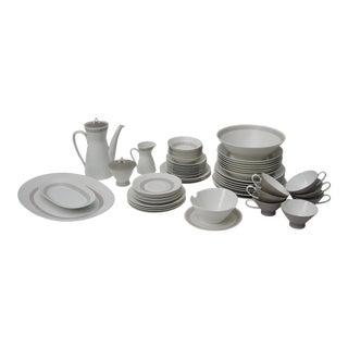 Rosenthal Greek Key Athenian China Set - 63 pieces For Sale