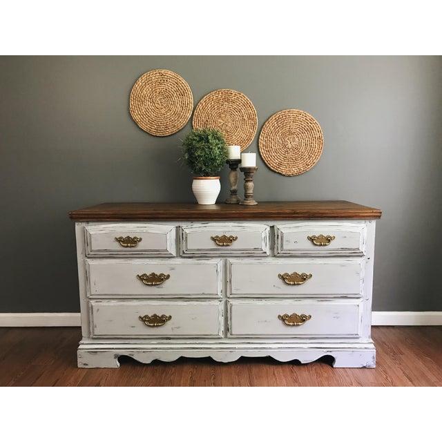 Vintage Distressed Dresser - Image 3 of 11