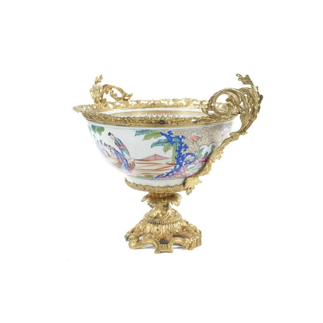 French Chinoiserie Gilt Bronze Mounted Bowl For Sale In Los Angeles - Image 6 of 9