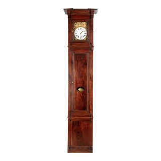 19th Century French Tall Case Clock or Horloge De Parquet For Sale