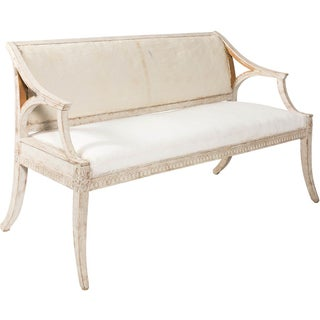 Small Gustavian-Style Sofa Preview