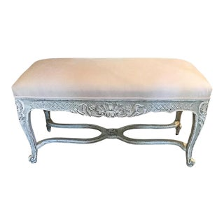 19th C Louis XV Bench