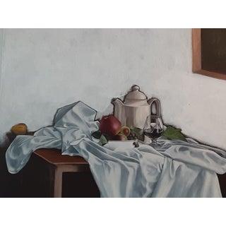 Famous Equador Artiat Late 20th Century Modern Still Life by Milton Estrella Gavidia For Sale