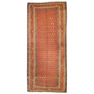 19th Century Afshar Rug - 4′5″ × 10′6″ For Sale