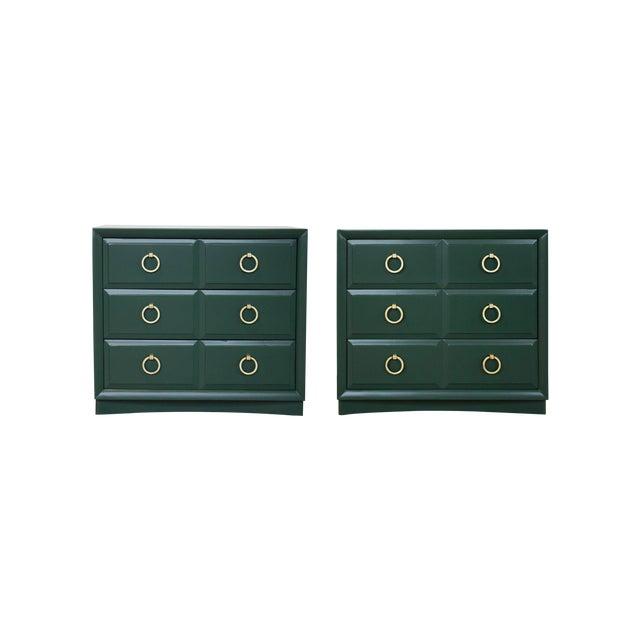 Pair of Chest Dressers by t.h. Robsjohn-Gibbings for Widdicomb For Sale