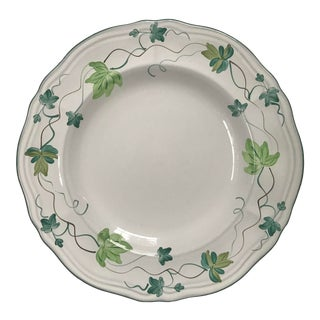Herend Village Hand Painted Ivy Pattern Dinner Plate, Hungary~ 6 Plates Available For Sale