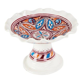 Atlas Multicolored Coup Plate For Sale