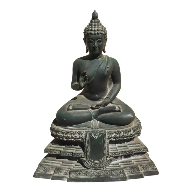 Chiang Saen Reproduction Bronze Buddha For Sale