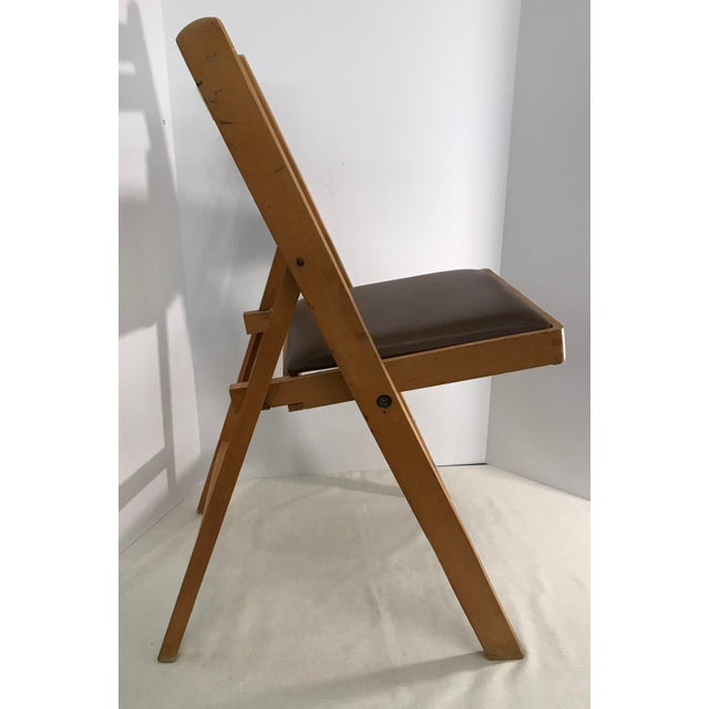 Vintage Wooden Folding Chair, Made in Romania - Image 6 of 11 - Vintage Wooden Folding Chair, Made In Romania Chairish