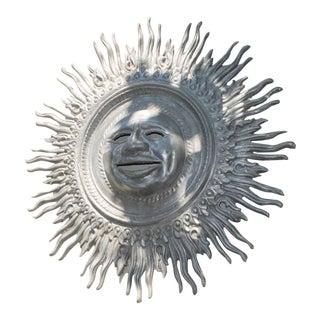 Cast Metal Outdoor Sun Decor For Sale