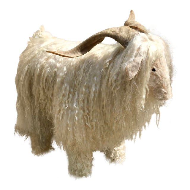 1960s Vintage Claude Lalanne Style Figural Sheep Sculpture / Stool For Sale