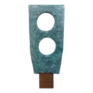 Abstract Cubist Sculpture by Bill Low For Sale