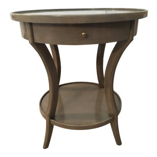 Woodbridge Stacey Round Molded Top Side Table
