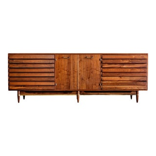 1960s Mid Century Modern American of Martinsville Dania Triple Dresser For Sale