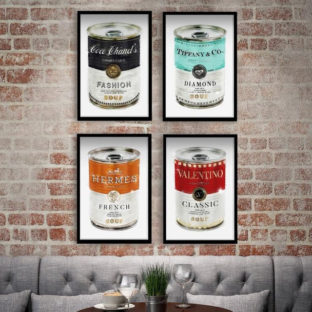 """Details: · Set of 4 Framed art prints by The Oliver Gal Artist Co. · Professionally hand framed print in a 1.2"""" premium..."""