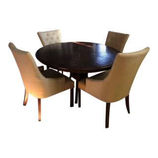 Stickley Dining Table and Chairs For Sale