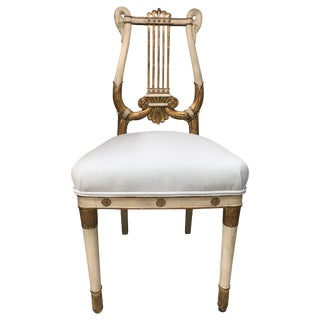 French Empire Side Chair For Sale