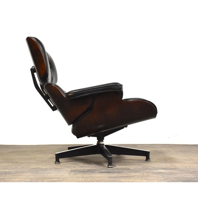 Astonishing Original Herman Miller Eames Lounge Chair Ottoman Dailytribune Chair Design For Home Dailytribuneorg