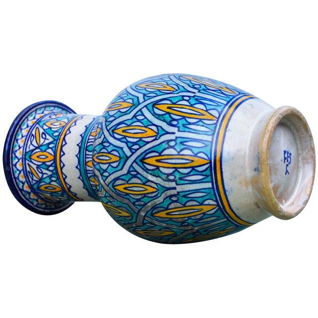 Antique Moorish Ceramic Vase For Sale In New York - Image 6 of 8