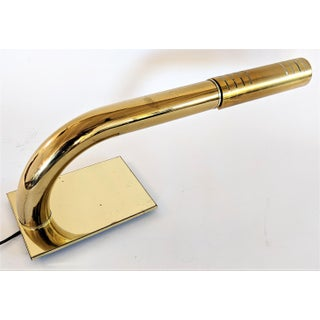 Brass Tubular Desk Lamp by Jim Bindman for Rainbow Lamp Co. 1970s Preview