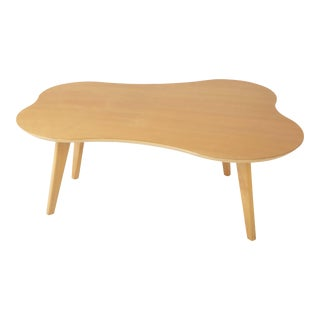 "Jens Risom for Knoll, ""Cloud"" Coffee Table in Maple For Sale"