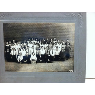 """Vintage """"Fort Pitt Grade School"""" Mounted Black & White Photograph Preview"""