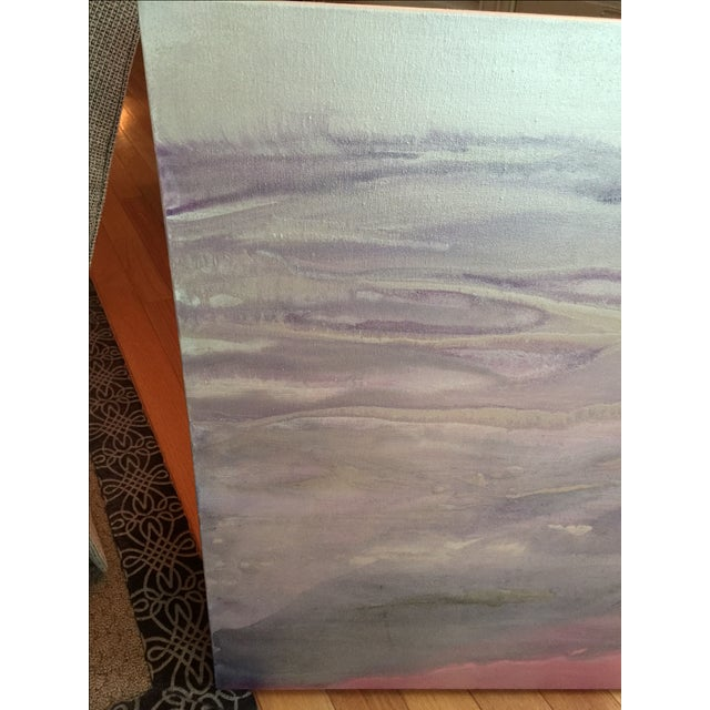 """Quartz"" Painting on Canvas by E. Maynard For Sale In Raleigh - Image 6 of 7"