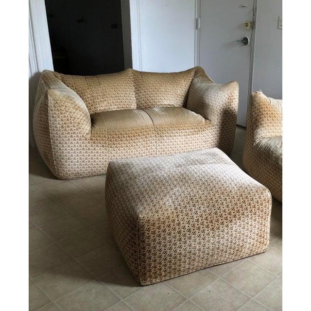 "Original ""Le Bambole"" Sofa With Ottoman - 2 Pieces For Sale - Image 13 of 13"