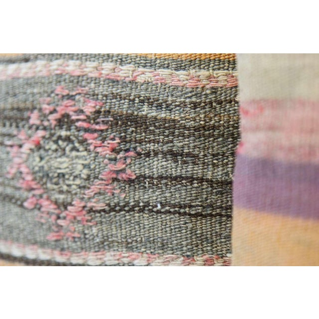Turkish Kilim Pillow Covers - A Pair - Image 4 of 7