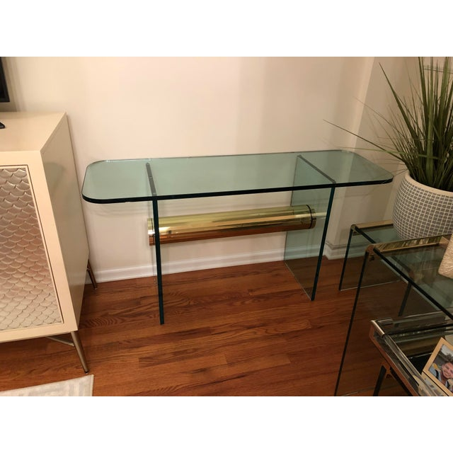 Mid-Century Modern Console Table For Sale - Image 11 of 12