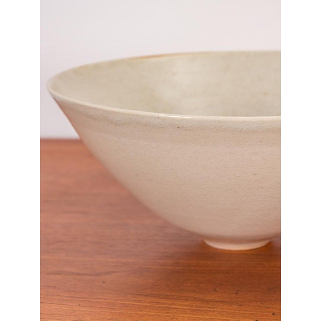 Americana Bone Porcelain Serving Bowl by Mary Roehm For Sale - Image 3 of 9