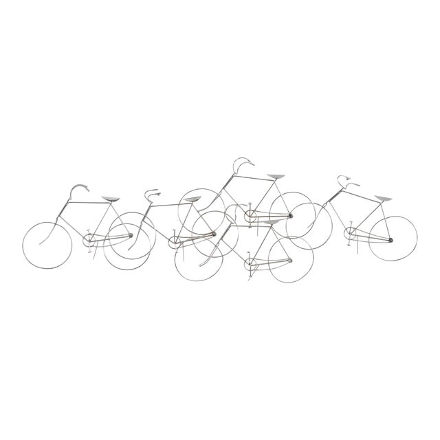 Bicycle Sculpture by Curtis Jere For Sale
