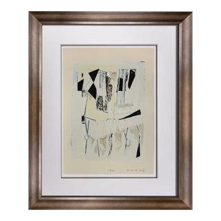 "Marino Marini Lithograph Signed Limited Edition ""Quadrille"", 1962 For Sale"