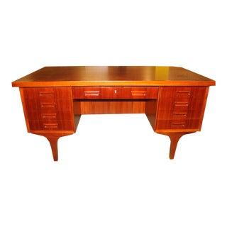 H.P. Hansen Danish Modern Teak Desk