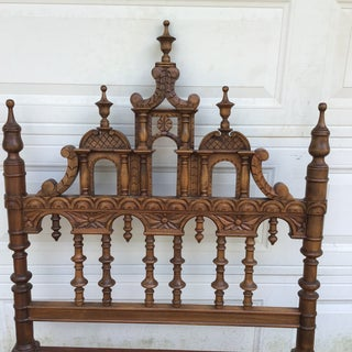 20th Century Victorian Aesthetic Twin Headboard Preview