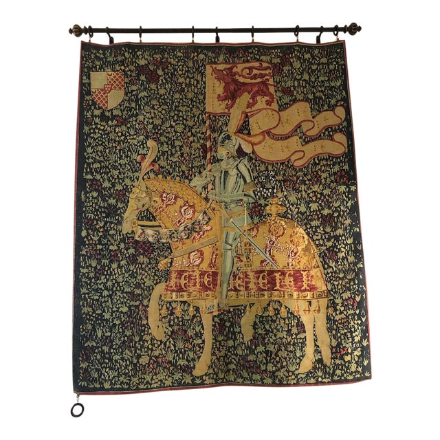 1960s French Style Tapestry For Sale