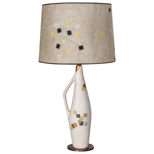 Tye of California Ceramic Lamp For Sale