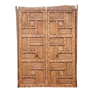 Pair of Geometric Goa Doors