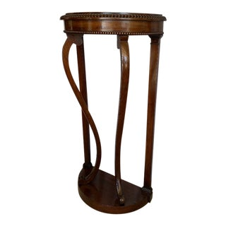 Vintage Mahogany Console Table For Sale