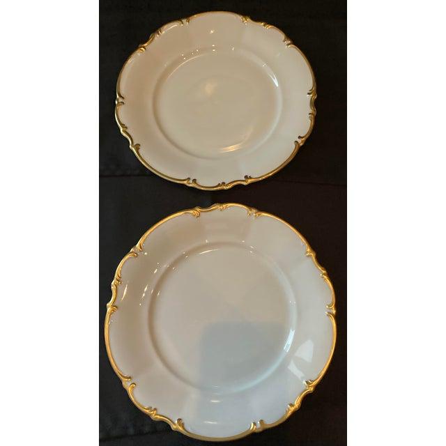 Vintage Hutschenreuther Brighton Dinner Plates - Set of 6 For Sale - Image 9 of 13