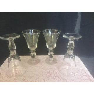 Georgian Style Trumpet Cocktail Glasses - Set of 4 Preview