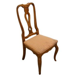 Late 20th Century Ethan Allen Country French Collection Dining / Side Chair For Sale