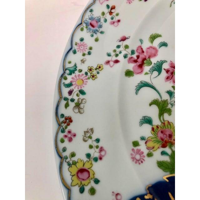 1980s 1980s Mottahedeh Tobacco Leaf Porcelain Plate For Sale - Image 5 of 11