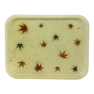 Mid-Century Modern Fiberglass Serving Tray For Sale