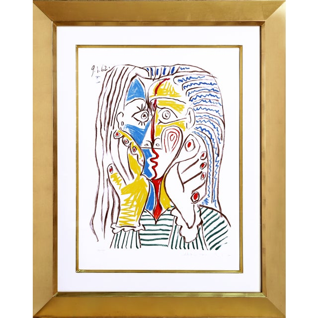 Pablo Picasso Lithograph - Visage II For Sale
