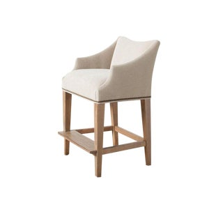 Modern Campaign Counter Stool For Sale