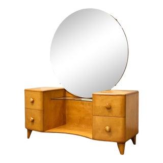 Heywood Wakefield Maple Vanity For Sale