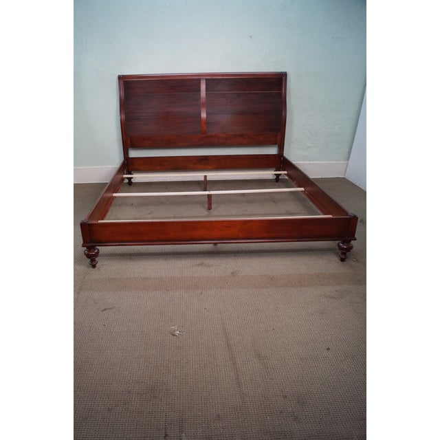 Ethan Allen British Classics King Size Kingston Bed For Sale - Image 5 of 10